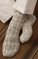 Woodsman's Thick Socks Pattern Pattern