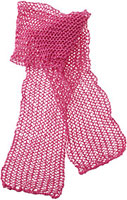 Honey Tangerine Scarf Pattern Pattern