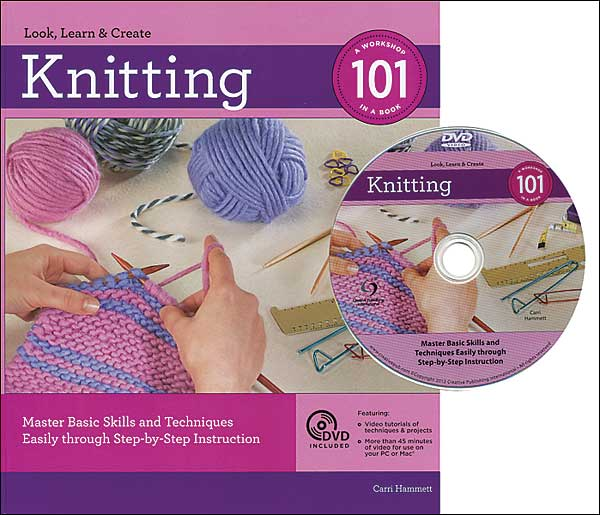 Knitting 101 with DVD