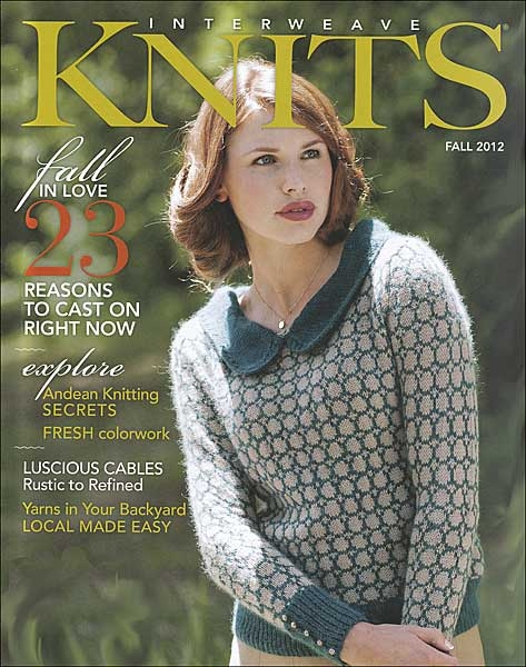 Interweave Knits Magazine Fall 2012