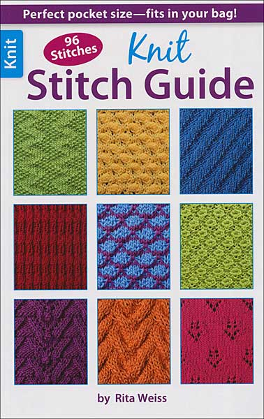 How To Follow Knitting Pattern Chart : Knit Stitch Dictionary from KnitPicks.com Knitting by Debbie Tomkies On Sale