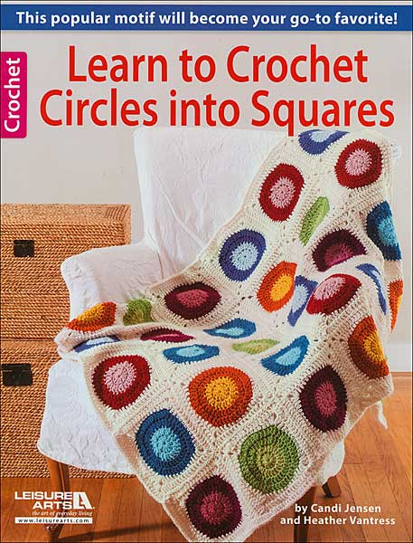 Learn to Crochet Circles into Squares