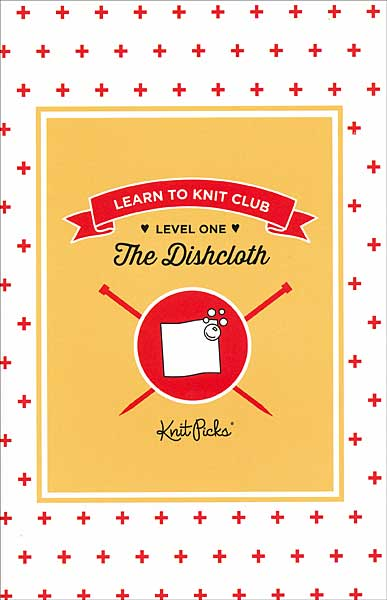 Learn to Knit Club: The Dishcloth Booklet