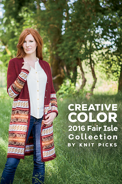 Creative Color: 2016 Fair Isle Collection