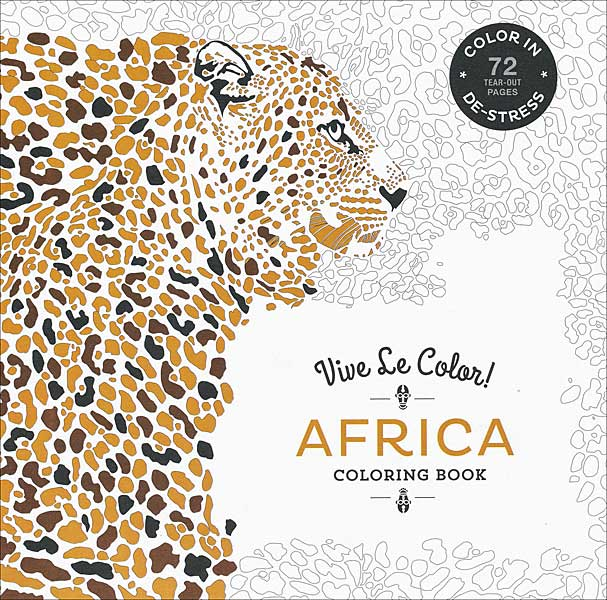 Vive Le Color! Africa Coloring Book