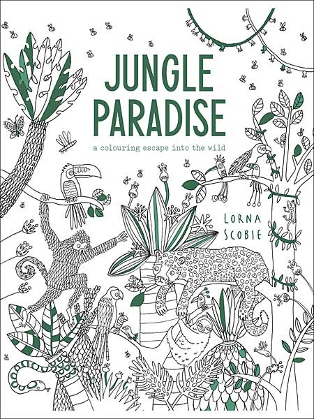 Jungle Paradise: A Coloring Escape Into the Wild