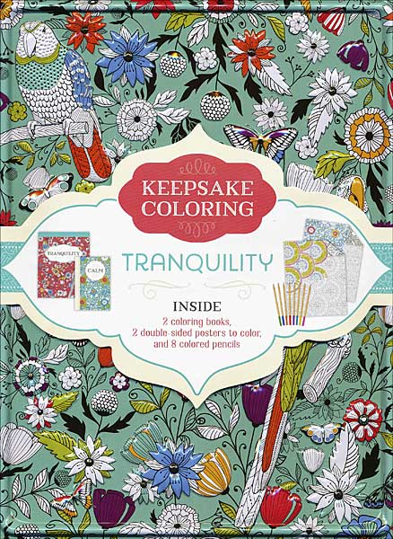 Keepsake Coloring Kit: Tranquility