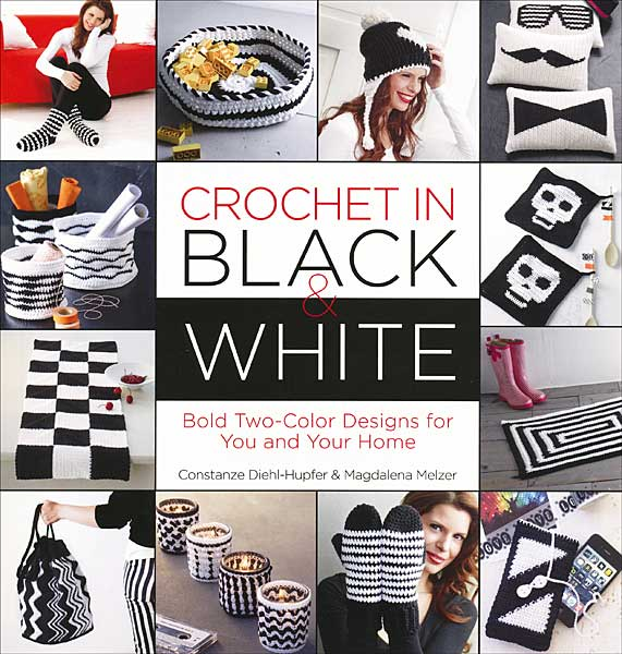 Crochet in Black and White