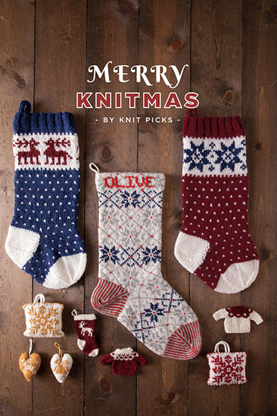 Merry Knitmas: 14 Projects for a Handmade Holiday