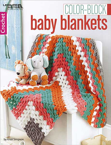 Color-Block Baby Blankets