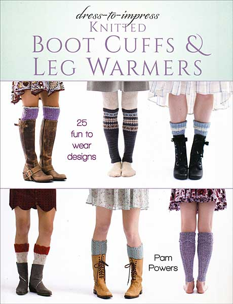Dress to Impress Knitted Boot Cuffs & Leg Warmers
