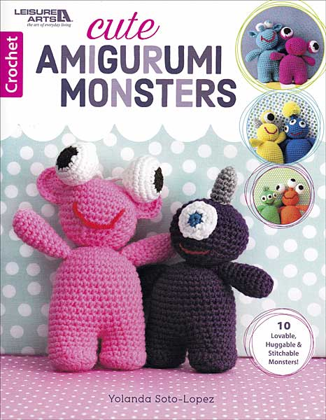 Cute Amigurumi Monsters