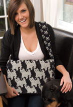 Cats & Dogs Satchel Pattern Pattern