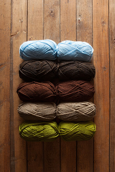 Scottish Isle Brava Bulky Sampler