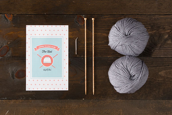 Learn to Knit Club: The Hat Kit