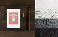 Learn to Knit Club: The Scarf Kit - Neutral