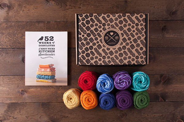 Dishcloth Boxed Kit - Rainbow