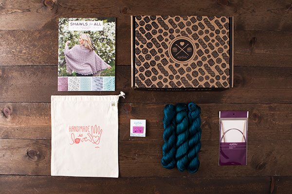 Luminance Starter Shawl Boxed Kit