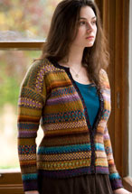 Palette Fair Isle Cardigan Pattern