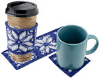 Come in From the Cold Coaster & Cup Warmer Pattern Pattern