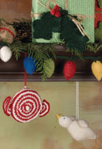 Tidings of Joy Holiday Ornaments Pattern Pattern
