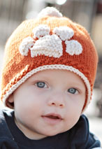 Tiger Stamped Hat Pattern Pattern