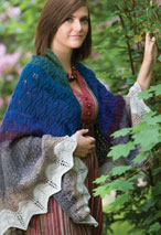 Fall Seasons Shawl Pattern Pattern