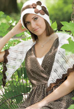 Mixer Cloche and Shawlette Pattern Pattern