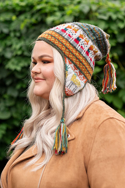 Andean Chullo Hat Pattern