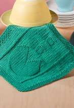 Chomp Chomp Dishcloth Pattern Pattern