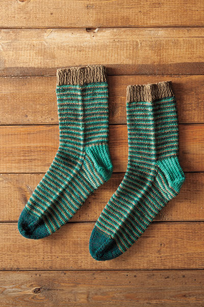 Helical Socks Pattern