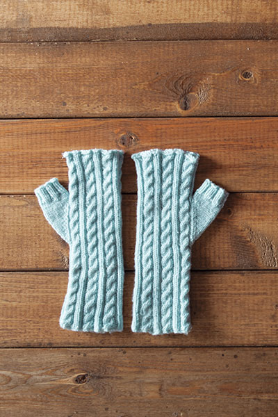 Frida Fingerless Mitts Pattern