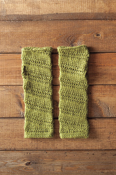 Helyx Fingerless mitts Pattern