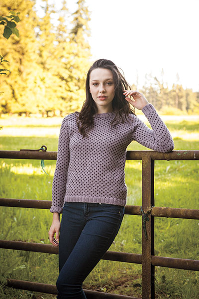 Poua Pullover Pattern Pattern