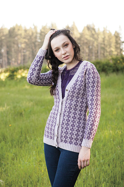 Argyle Boyfriend Sweater Pattern Pattern