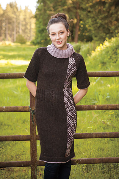 Roositud Sweater Dress Pattern Pattern