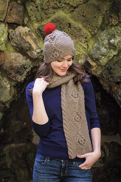 Keighley Hat & Scarf Pattern