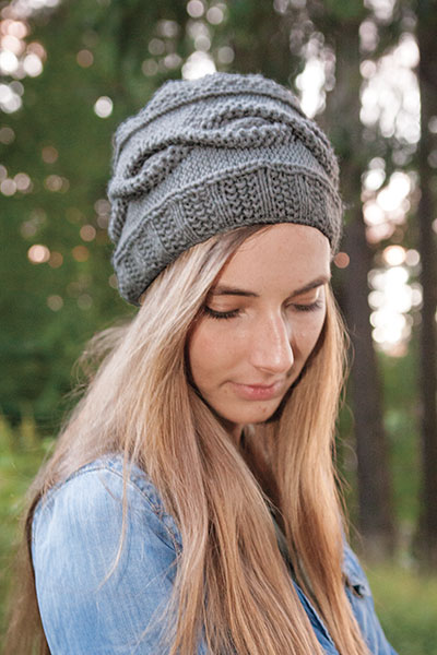 Seed Stitch Hat Pattern