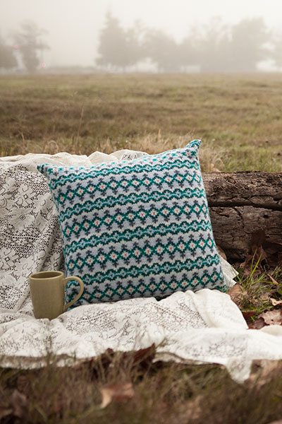 Firth Waves Cushion Pattern