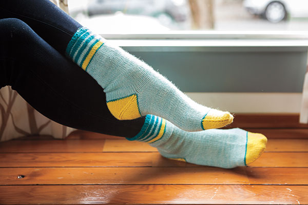 Puddle Jumper Socks Pattern