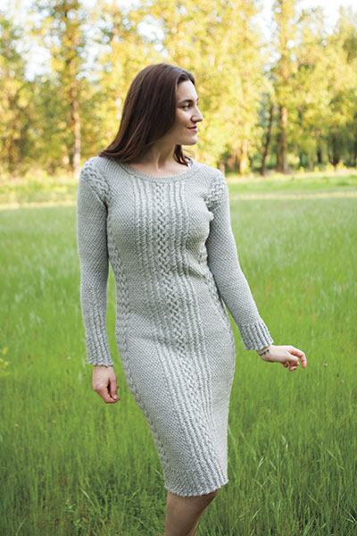 Lucky Dress knitting pattern
