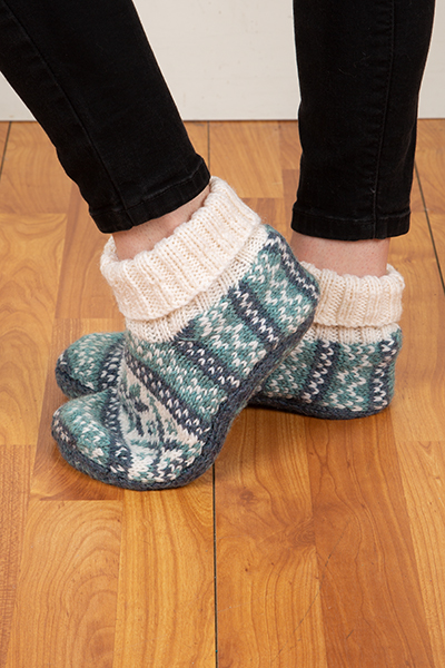 Frost Slippers Pattern