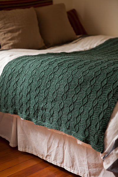 Hearthside Throw Pattern