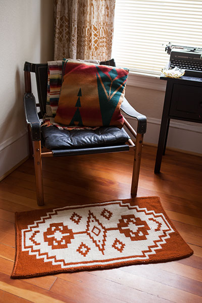 High Desert Rug  Pattern