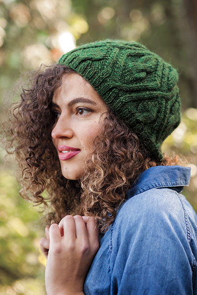 Leaf Pane Hat Pattern