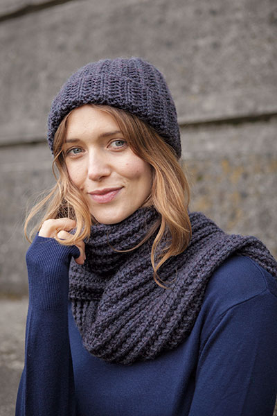 Aberdeen Hat and Scarf Pattern