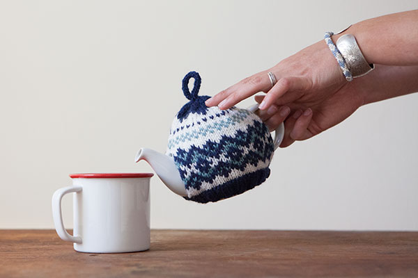 Snow Day Tea Cozy Pattern