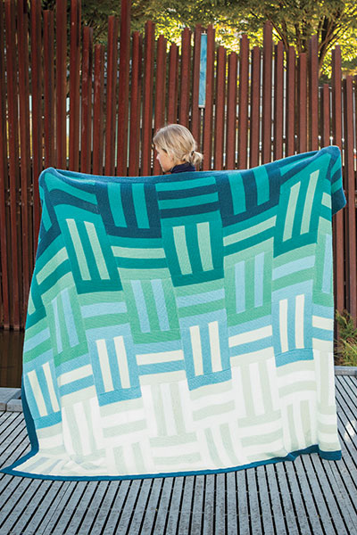 Ombre Knit Quilt Pattern