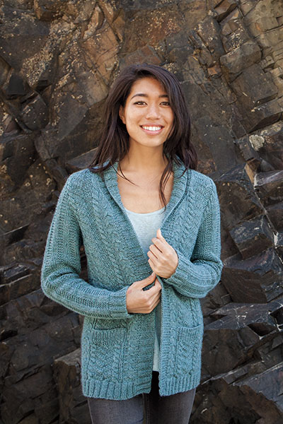 Straight and Arrow Cardigan Pattern