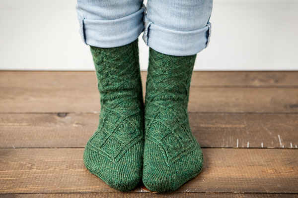 Corrandulla Socks Pattern